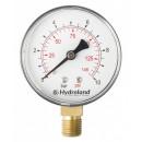 Manometr radialny boczny 0-1,6 bar 63mm sprężynowy