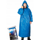Großhandel Fashion & Accessoires: Schutzregenmantel, blaues Cape