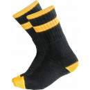 Großhandel Fashion & Accessoires: Socken hohe Socken 3 Paar schwarz stark