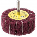 wholesale Electrical Tools: Flap wheel with fleece 63.5 x 6 mm p80