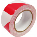 Adhesive vinyl red warning tape