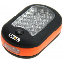 wholesale Flashlights: Portable torch light LED 27 diodes