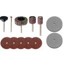 Mini discs drums discs stones set 13 pieces