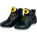 Schuhe sichern Zehenkappenschuhe für den Fertiger