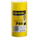 Sandpaper abrasive roll 2.5 m p80 115mm