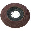 Disque abrasif pour meule à lamelles 125 p100