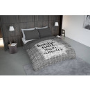 wholesale Bedlinen & Mattresses: dc bonne nuit gray, 200X200 GER