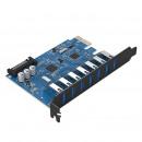7 Port USB 3.0 PCI Express Card (5 Gbps)