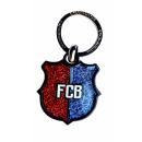 Futbol - Porte-clés FCB Bouclier Bicolore Pourpre