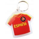 Großhandel Shirts & Tops: Keychain Plastik T-ShirtESPAÑA