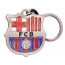Futbol - Llavero FCB ESCUDO PLATEADO