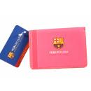 Futbol - Funda Carnet FCB ROSA