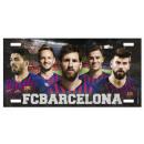 Football - Plaque en métal Vintage FCB