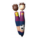 wholesale MP3 & MP4 Player : Football - Ballpoint pen FCB PLAYER
