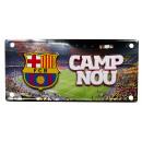 Fussball - FCB Camp Nou Metallplatte