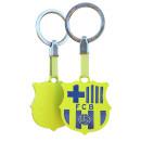 Futbol - Llavero FCB Escudo Fluor Amarillo
