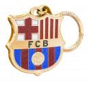 Football - FCB Keychain Gold Glitter Shield