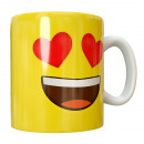 Mug YELLOW HEARTS