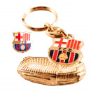 Football - Porte-clés FCB CAMPO + PIN