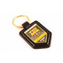 Football - Porte-clés en cuir FCB Premium
