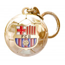Football - Porte-clés FCB Ball GOLD