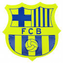 Football - Insigne de badge FCB GIANT FLUORO ESCUD