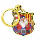 Football - Porte-clés FCB CHRISTMAS SANTA