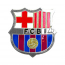 Football - Pins FCB Badge GIANT SHIELD ARGENT