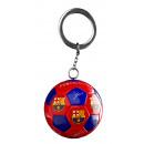 Futbol - Llavero FCB Balón blaugrana