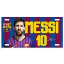 Soccer - FCB MESSI Metal Plate