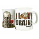 Mug I LOVE BRAINS