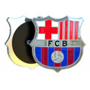 Football - Magnet FCB Argent Grand