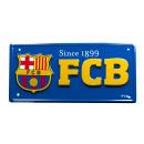 Soccer - Plaque en métal FCB 1899