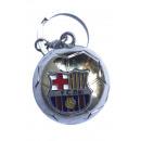 Soccer - FCB Keychain SILVER Ball
