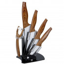 6-piece ceramic knife set with acrylic stand, Ant