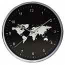 Horloge universelle murale Roland, noir 30cm