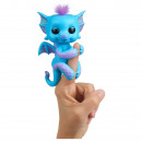WowWee Fingerlings Dragon Tara with purple glitter
