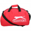 Großhandel Reise- und Sporttaschen: Slazenger Sporttasche mit Schulterriemen rot