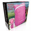 wholesale Backpacks: Dunlop foldable backpack 34x21x13.5cm in pink