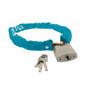 wholesale Ironmongery: Square chain with padlock 6 x 900 mm Fahrr