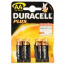 Duracell LR6 / AA MN1500 Plus Alkaline BP4