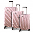 wholesale Suitcases & Trolleys: Valis® 3-piece suitcase set with number lock