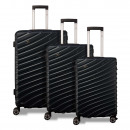 Valis® 3-piece suitcase set with number lock