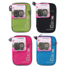 Dunlop travel wallet, mixed colors
