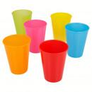 juego de 4 vasos de plástico