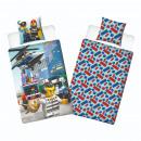 LEGO Charakter Bettbezug - Hubschrauber