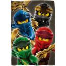 LEGO Fleecedecke - Ninjago