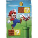 Super Mario Fleecedecke - Maskottchen