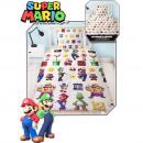 Großhandel Home & Living: Super Mario Bettbezug - Lineup Weiß