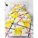groothandel Home & Living: Pokemon Duvet cover - Geometric White